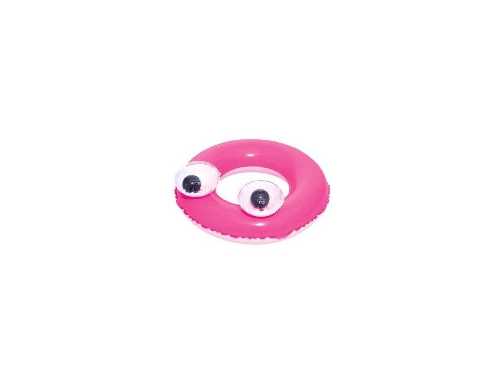 Bestway Koleso Oči ružové - 61 cm