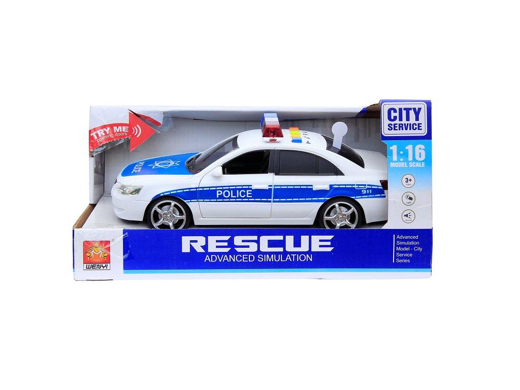 Wenyi Policajné auto WY560A 24 cm