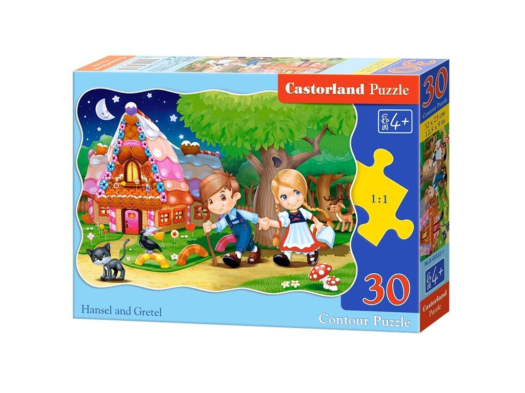 Castorland detské puzzle Janko a Marienka 30 dielikov