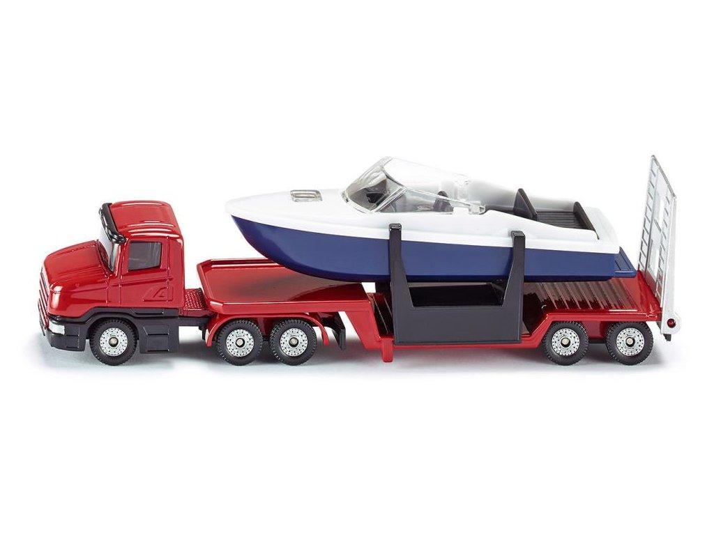 Auto Transportér s člnom - SIKU 1613