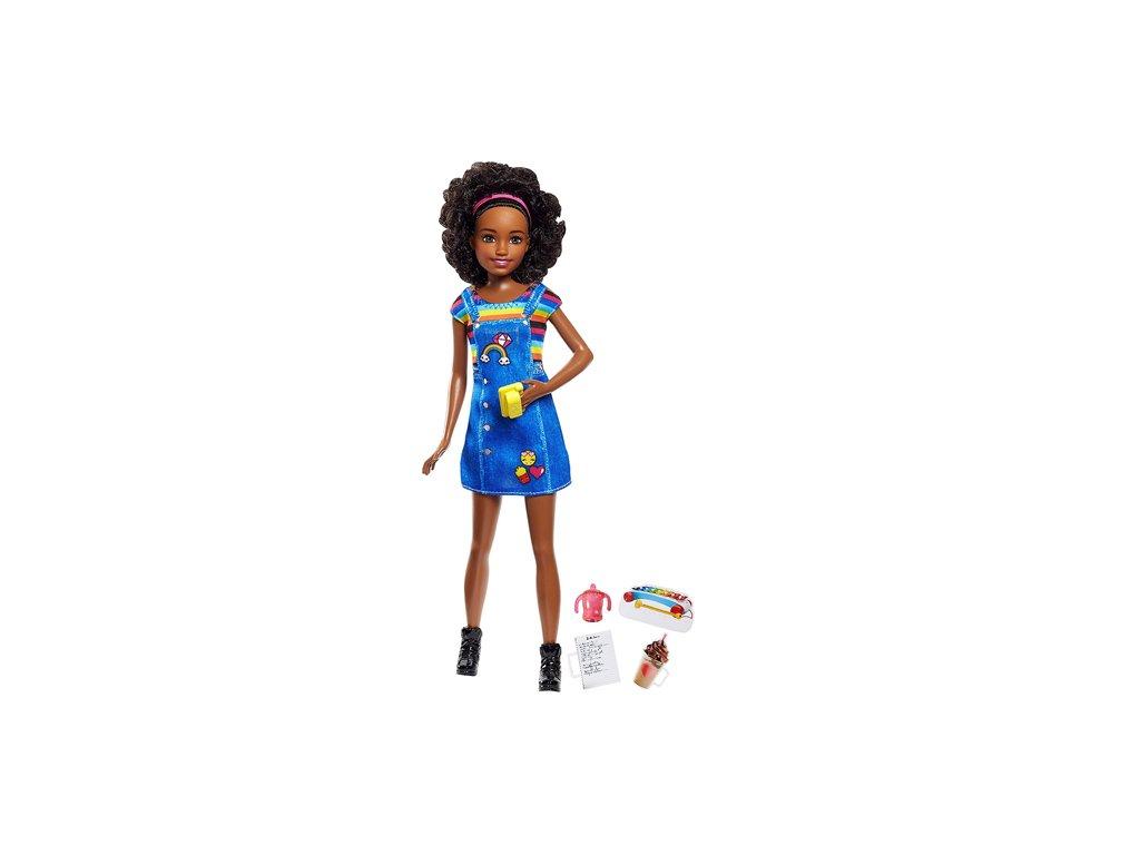 Mattel Barbie - Babysitter černoška