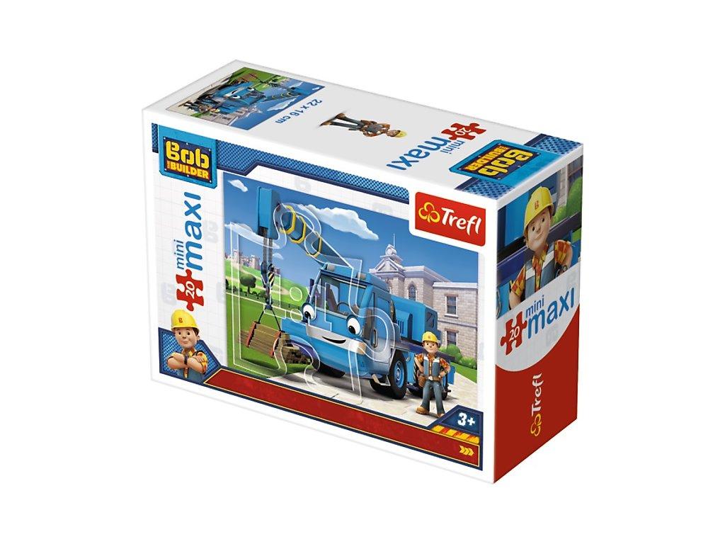 Trefl mini Maxi puzzle Bob Staviteľ 21008 - 20 dielikov