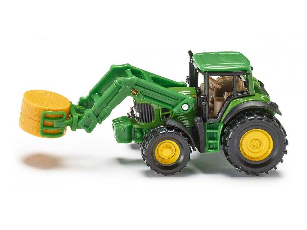 Siku Blister 1379 Traktor s nakladačom slamy