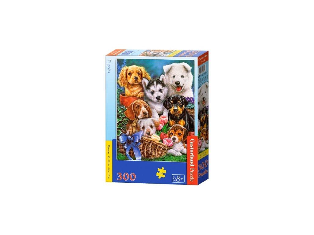 Castorland detské puzzle Šteniatka 300 dielikov