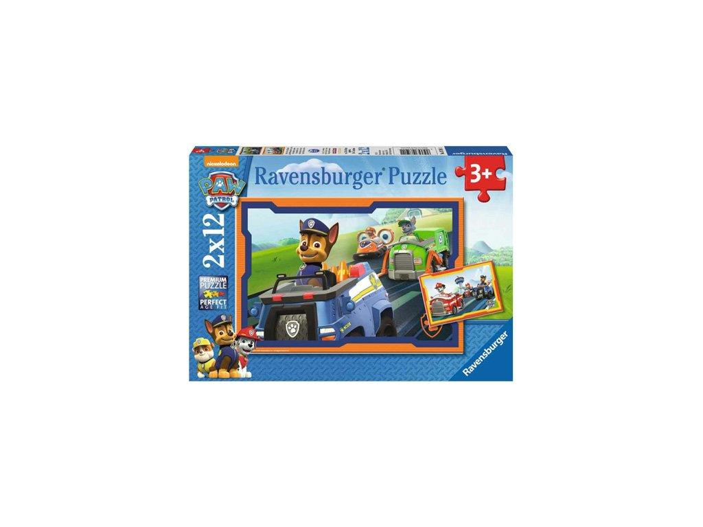 Ravensburger puzzle Paw Patrol 2 x 12 dielikov
