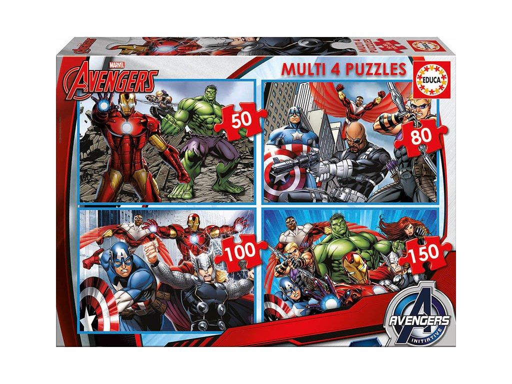 Educa puzzle Avengers 4v1