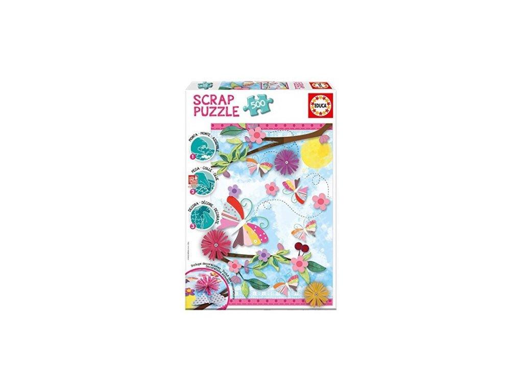 Educa Garden Art Scrap puzzle 500 dielikov