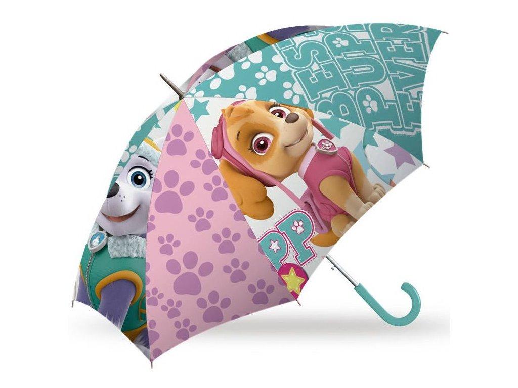 Kids Licensing detský dáždnik Skye a Everest  84 cm