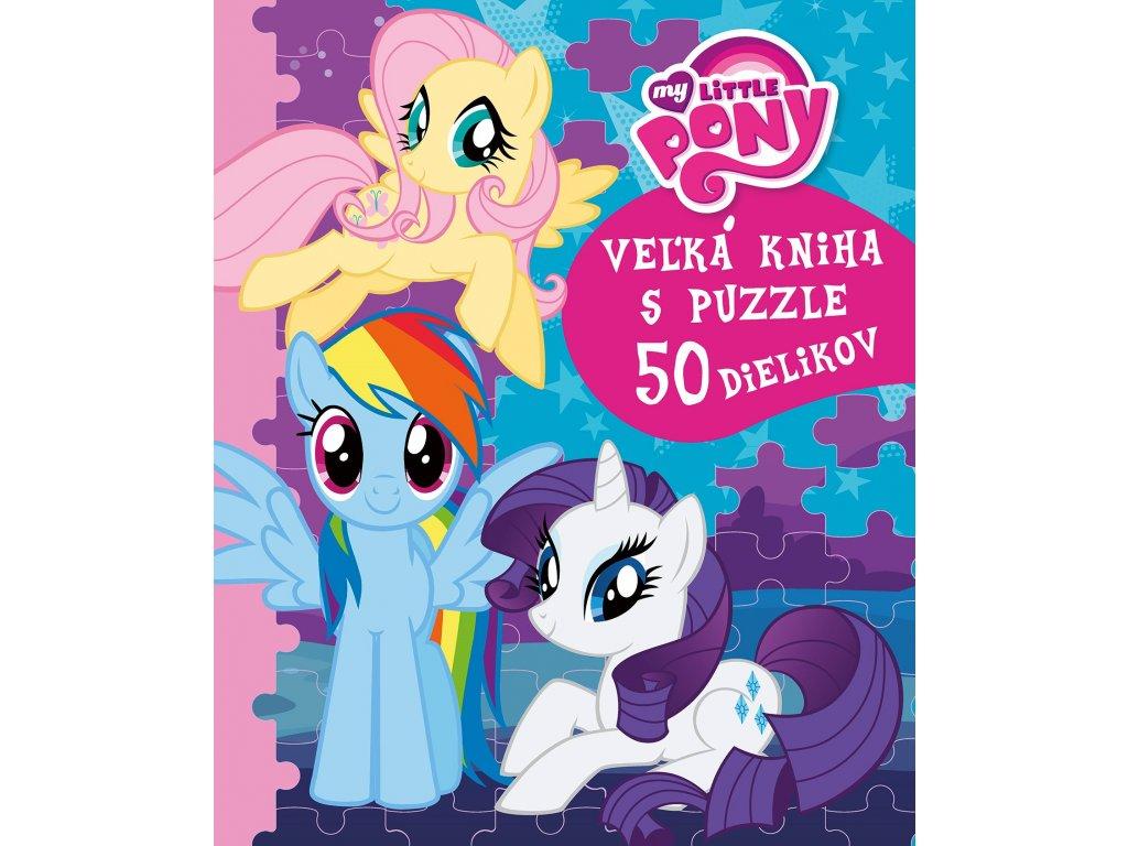 My Little Pony - Veľká kniha s puzzle