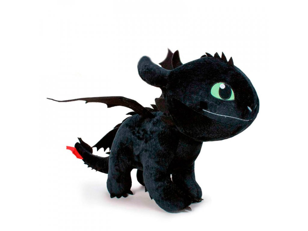 Plyšový drak Bezzubka New 60 cm