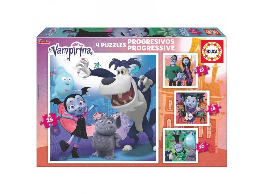 Educa Progressive Vampirina 4v1