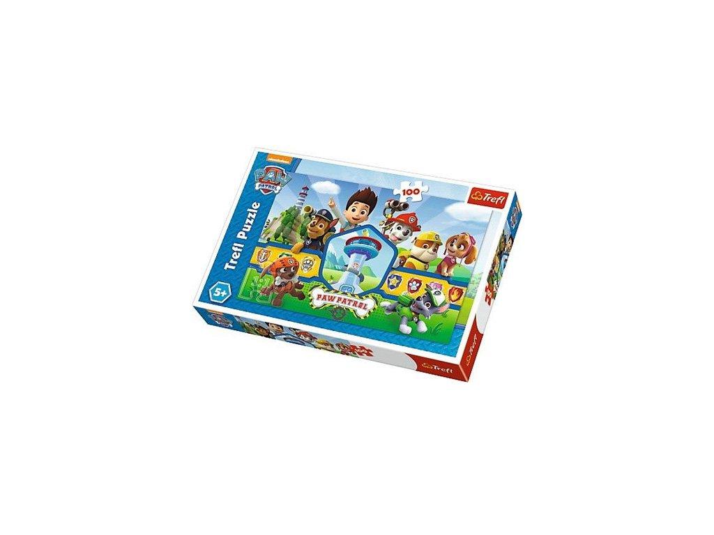 Trefl puzzle Paw Patrol Tím 100 dielikov