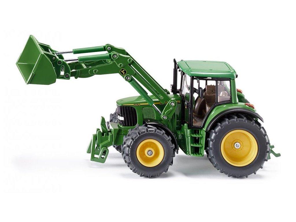 Siku Farmer 3652 Traktor John Deere s čelným nakladačom 1:32