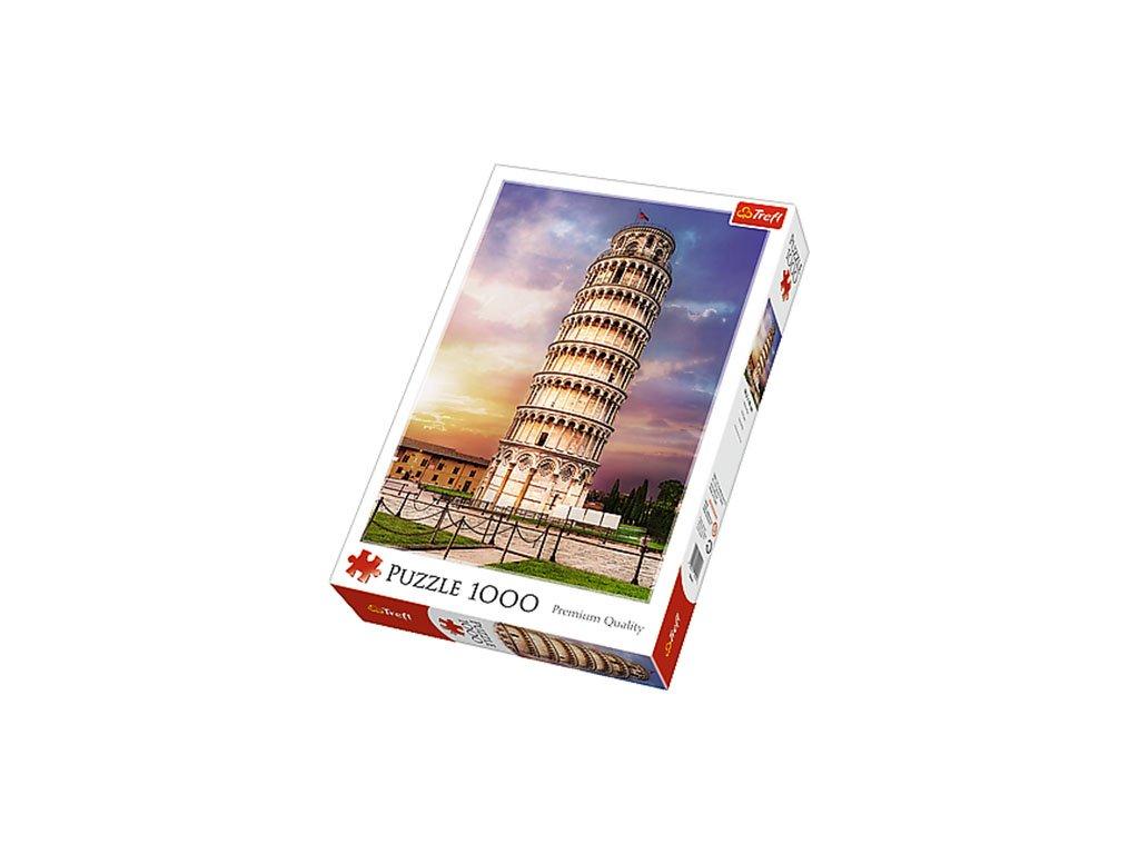 Trefl puzzle Šikmá veža v Pise 1000 dielikov