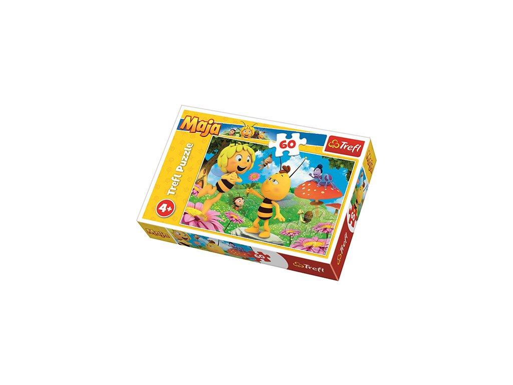 Trefl puzzle Kvietok pre Maju 60 dielikov