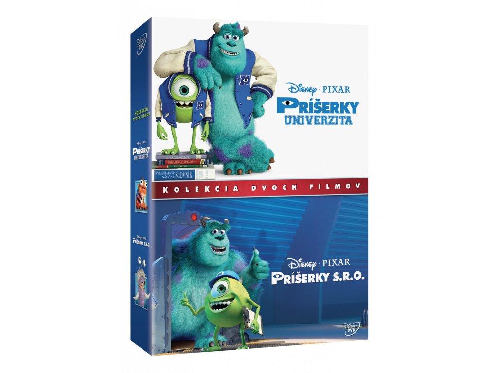 DVD Kolekcia - Príšerky S.R.O. a Príšerky Univerzita