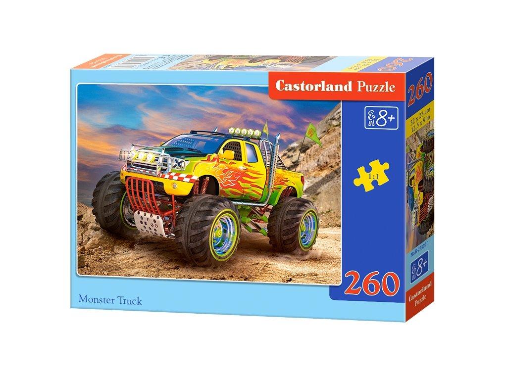 Castorland puzzle Monster Truck - 260 dielikov
