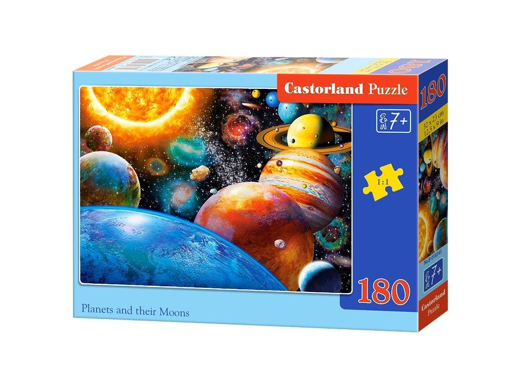 Castorland puzle Planéty - 180 dielikov