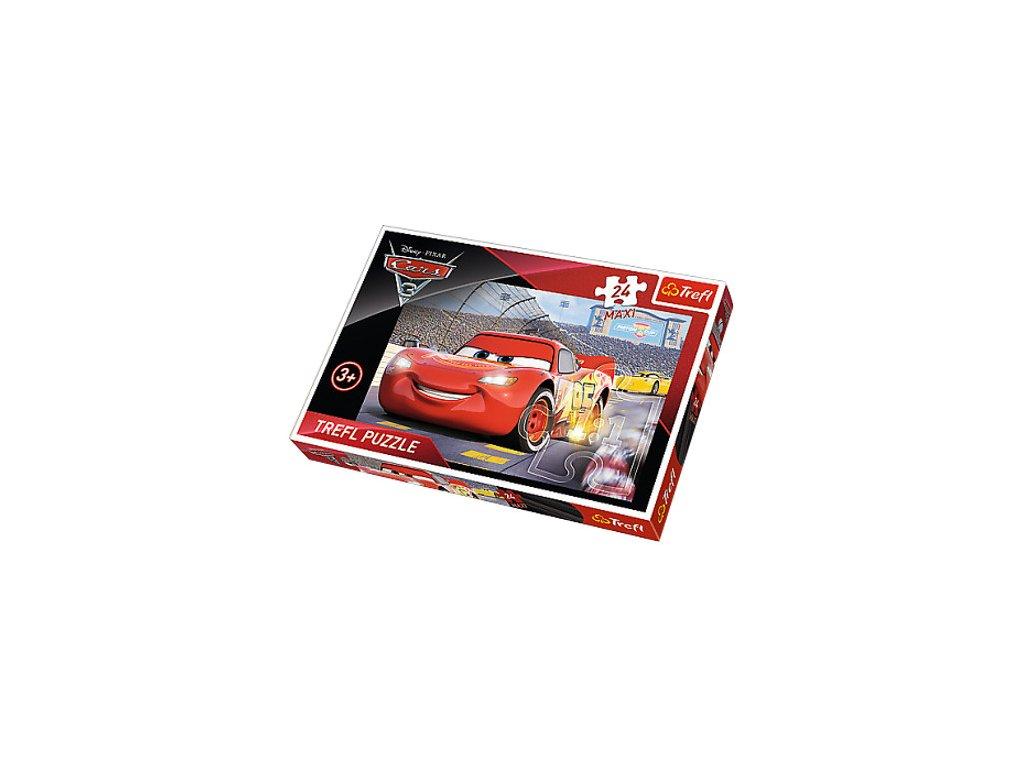 Trefl Maxi puzzle Autá 3 - 24 dielikov