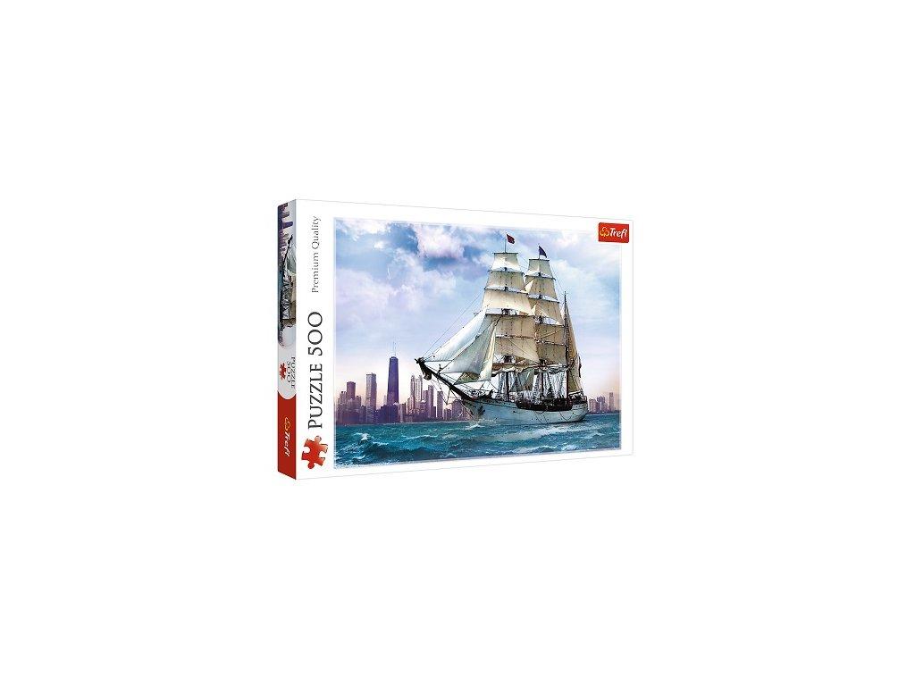 Trefl puzzle Plachetnica 500 dielikov