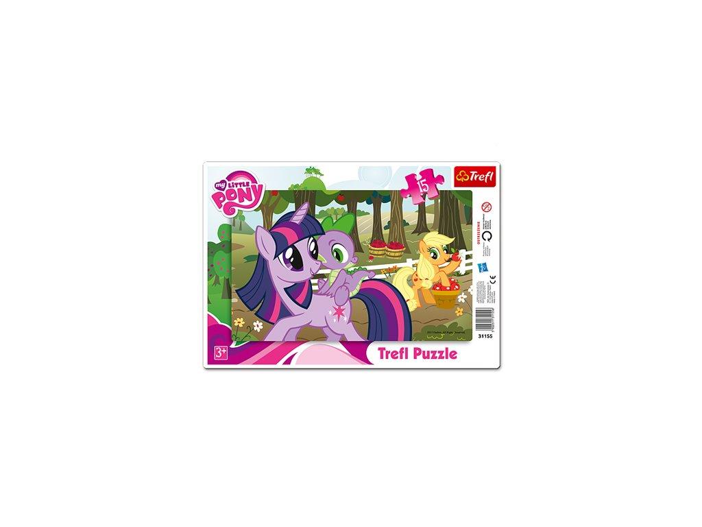 Trefl detské puzzle My Little Pony 15 dielikov