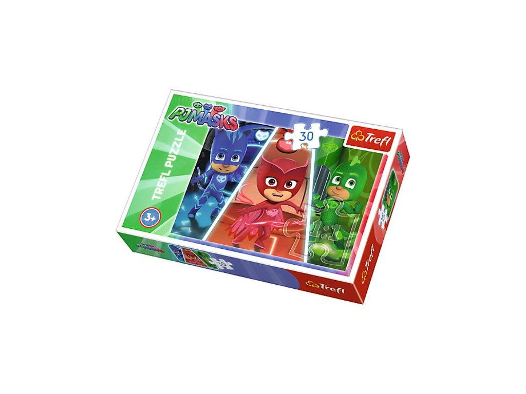 Trefl puzzle PJ Masks 30 dielikov