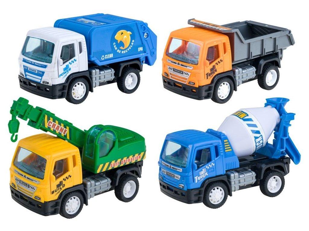 Zostava pracovných autíčok I. 4 ks