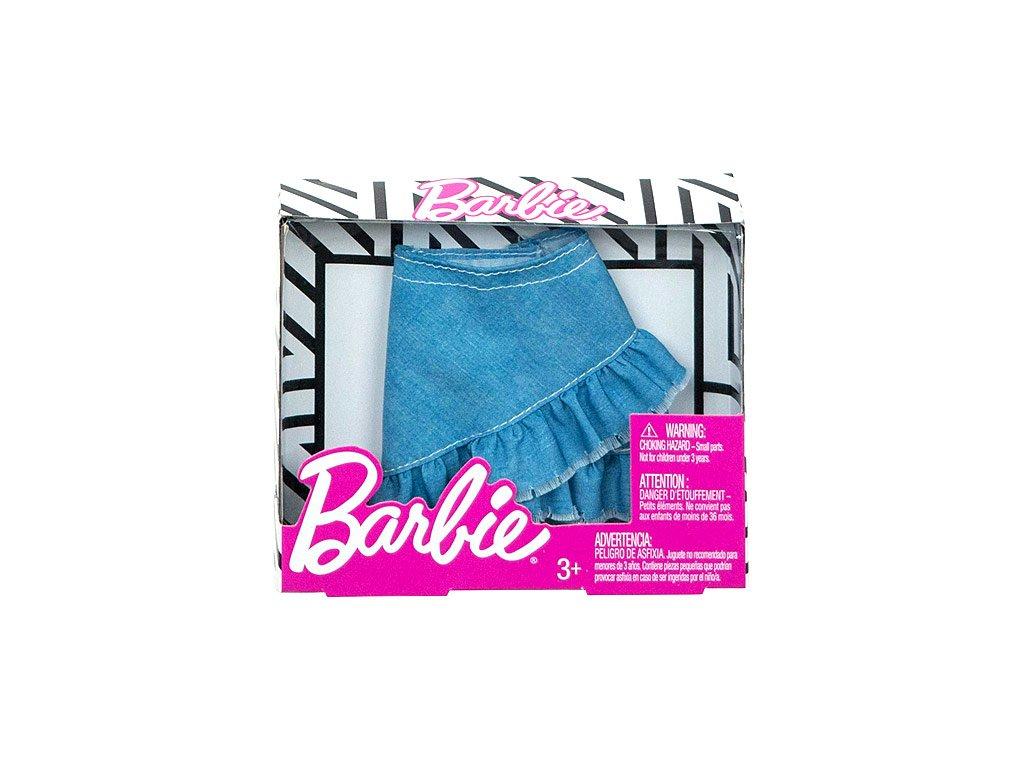 Mattel Barbie - Modrá džínsová sukňa