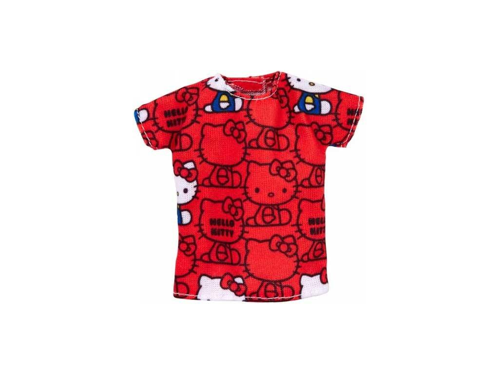 Mattel Barbie - Červené Hello Kitty tričko