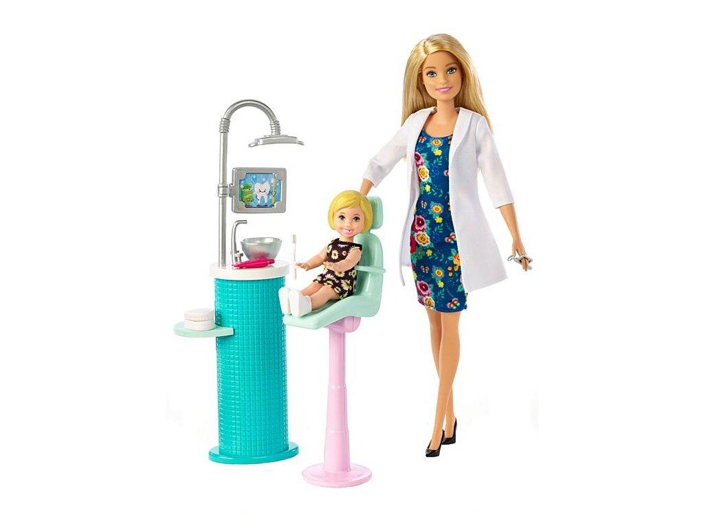 Mattel Barbie povolania - Zubárka (blond)