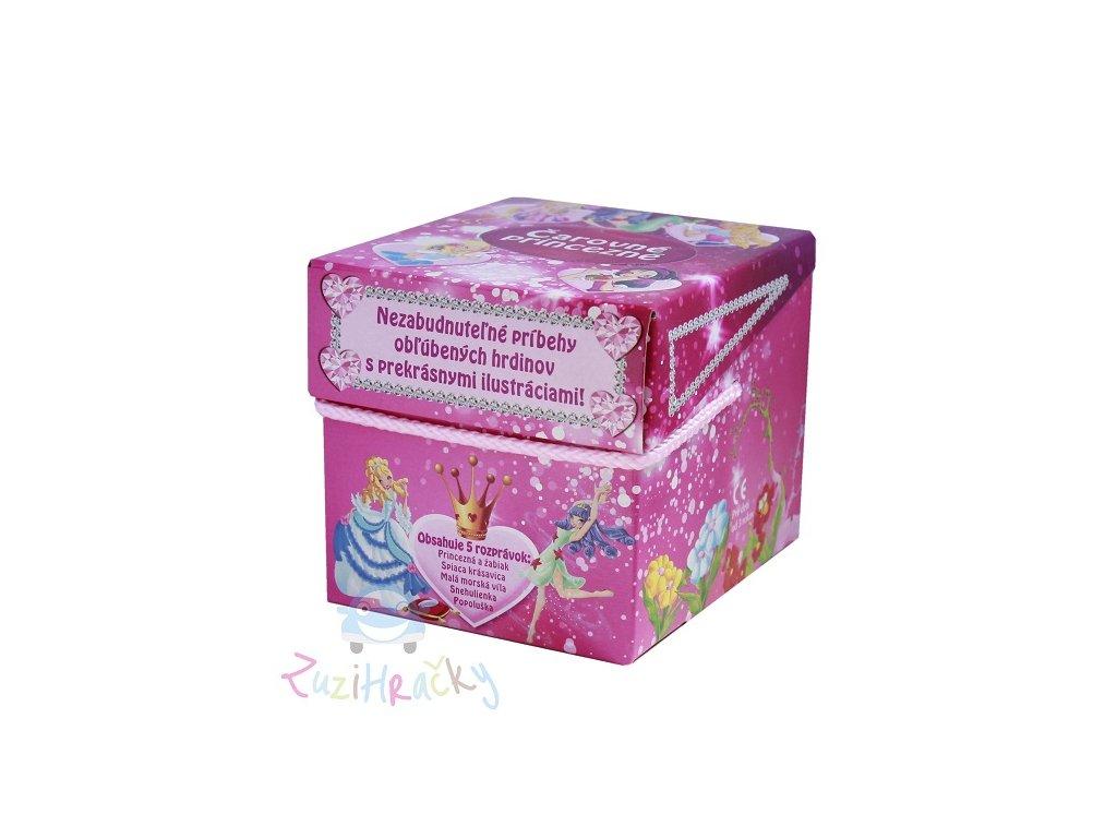 Čarovné princezné - rozprávky v krabičke