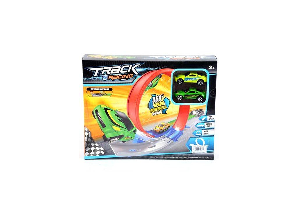 MK Toys - Základná dráha s dvomi autíčkami