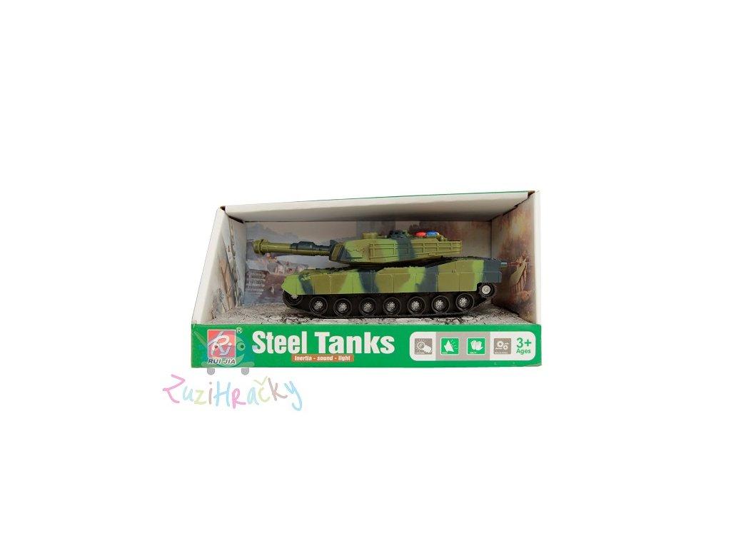 Tank zelený 14 cm