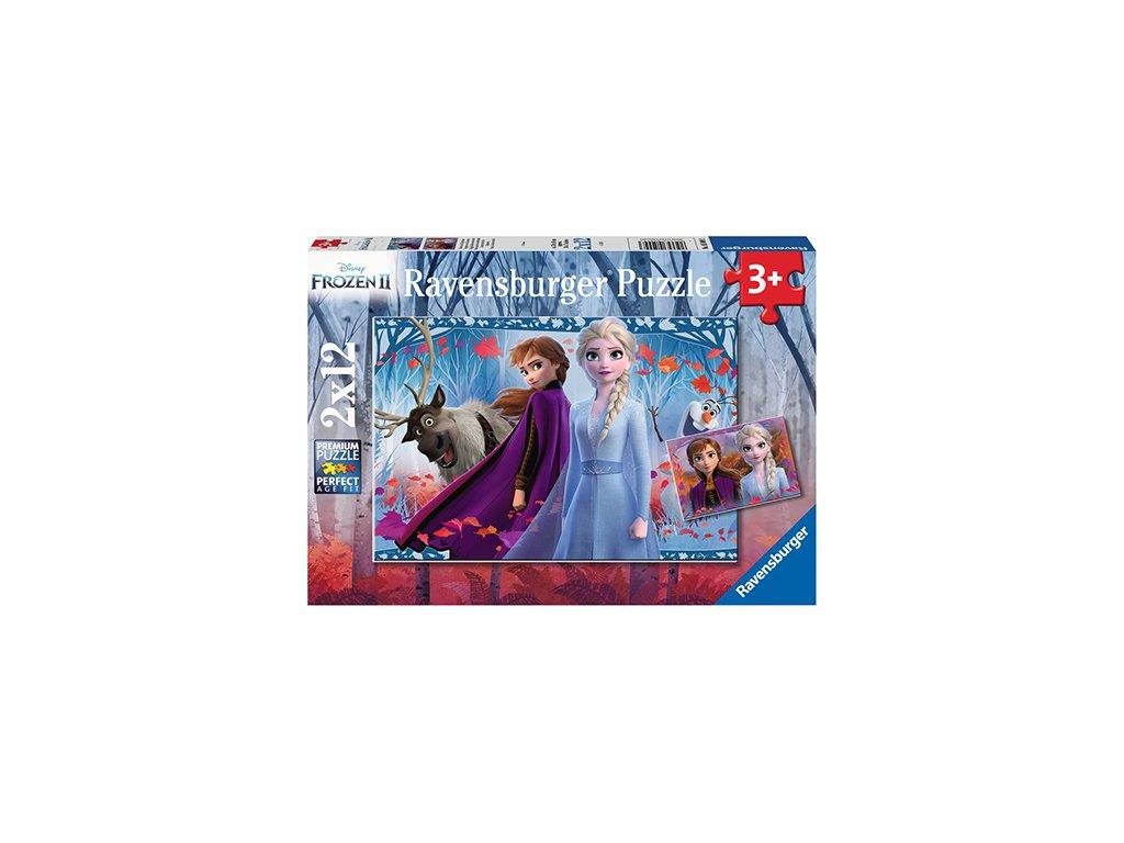 Ravensburger puzzle Frozen II 2 x 12 dielikov