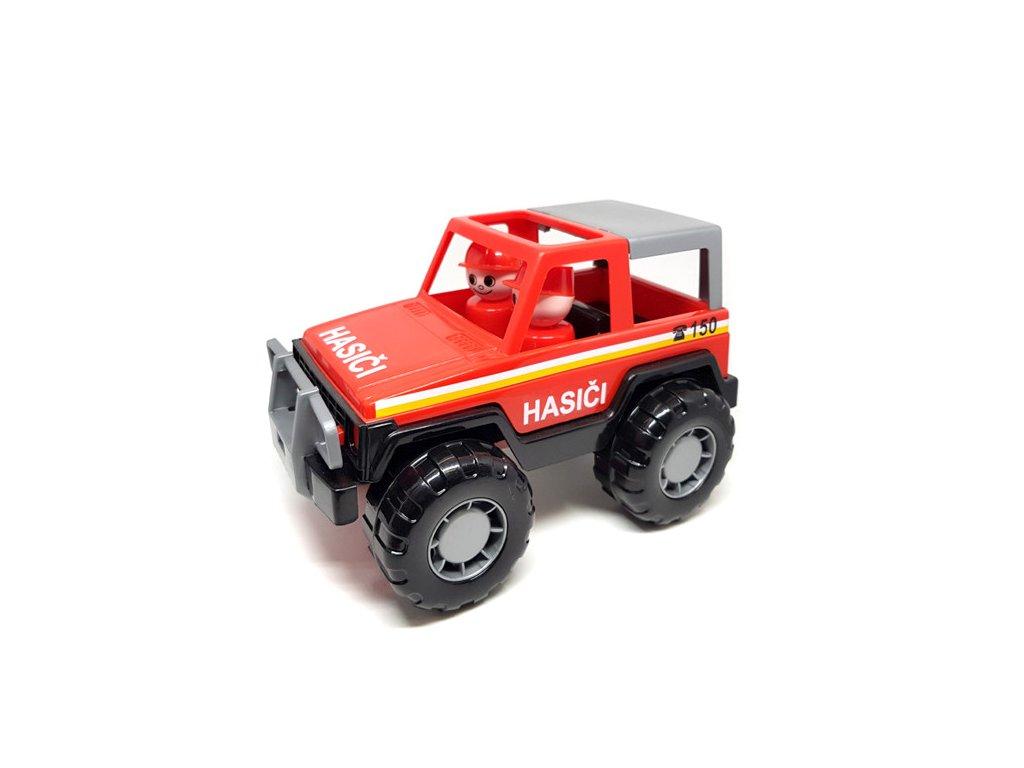 Wader auto Jeep Voyager hasiči