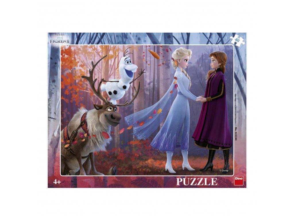 Dino doskové puzzle Frozen II 40 dielikov