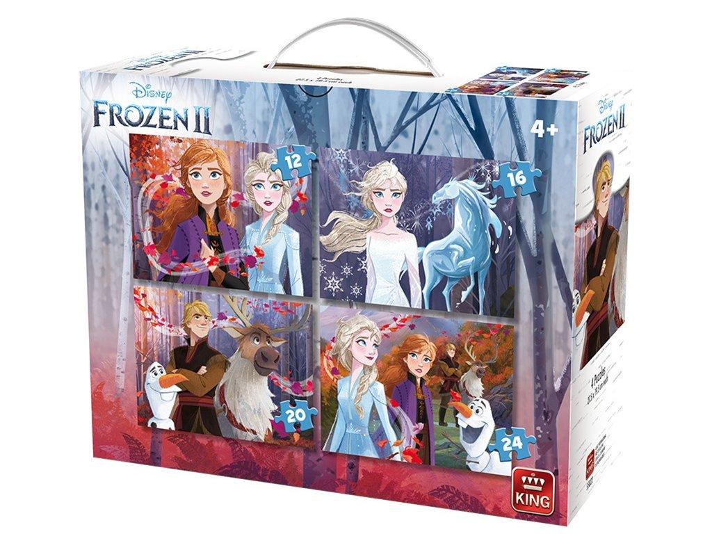 King puzzle Disney Frozen II 4v1