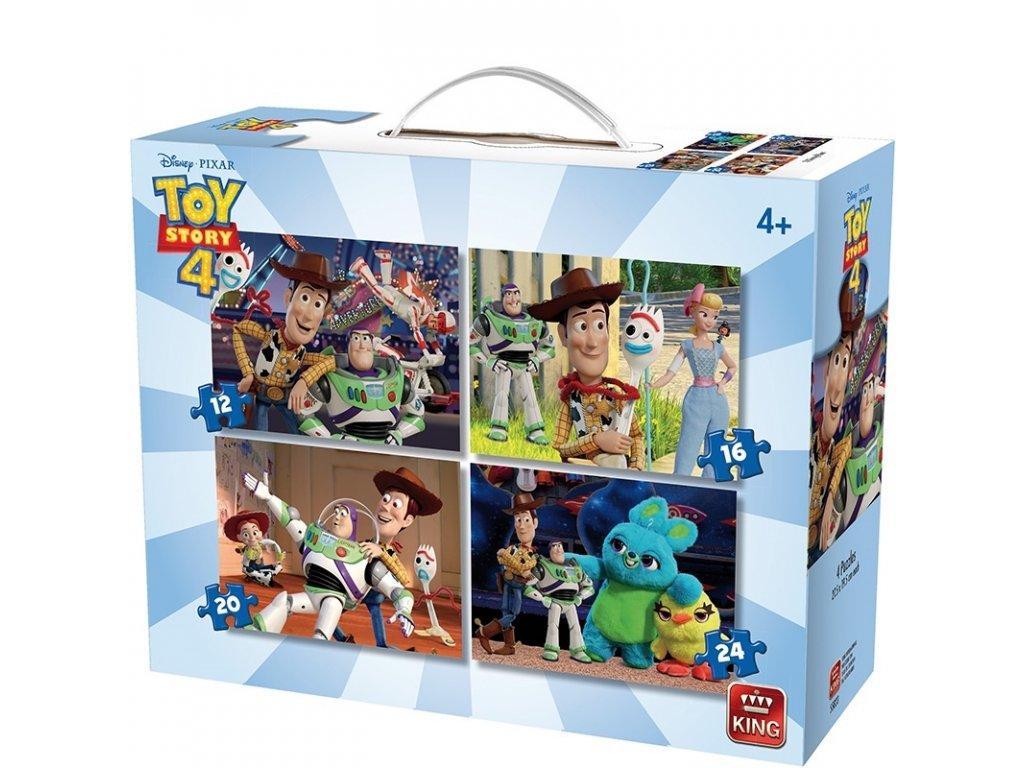 King Disney Toy Story 4 puzzle 4v1