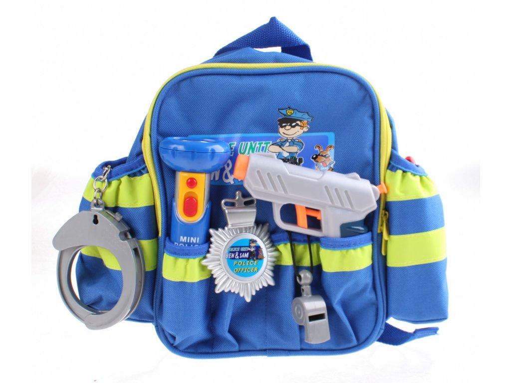 Klein Policajný ruksak s príslušenstvom (8802)