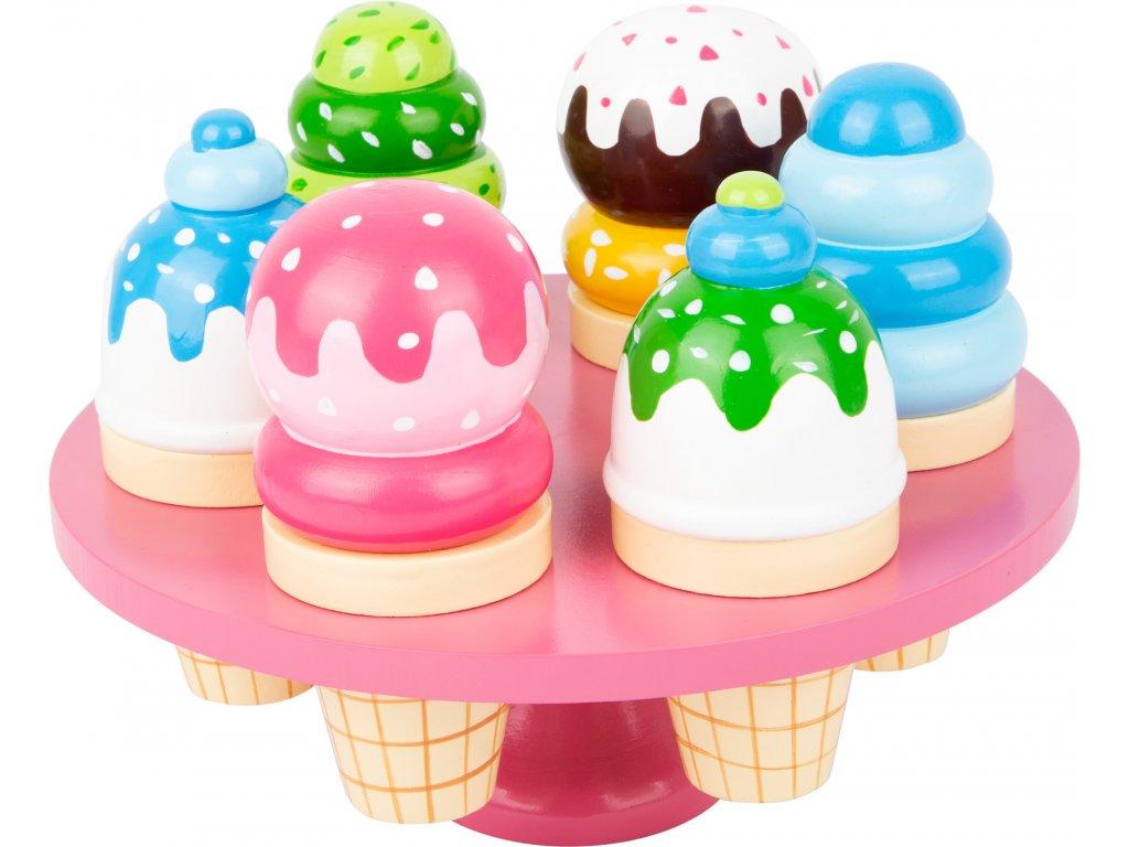 Small Foot - Zmrzliny v kornútku na stojane