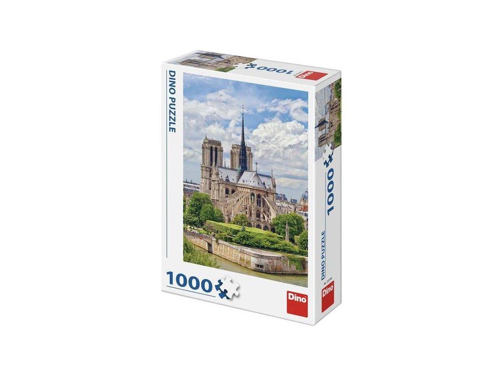 Dino Puzzle Katedrála Notre-Dame 1000 dielikov
