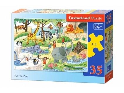 Castorland detské puzzle V Zoo 35 dielikov