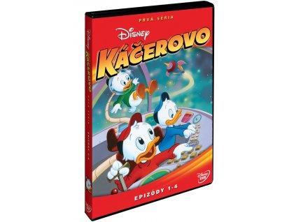 DVD - Káčerovo 1. série- disk 1