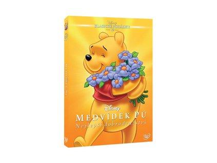 DVD Film - Medvídek Pú: Nejlepší dobrodružství