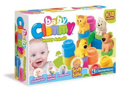Clementoni Clemmy baby Veselé zvieratká