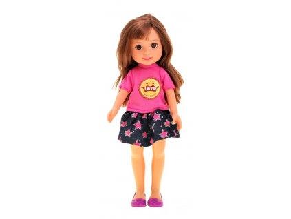 Bábika Elaine brunetka - 32 cm