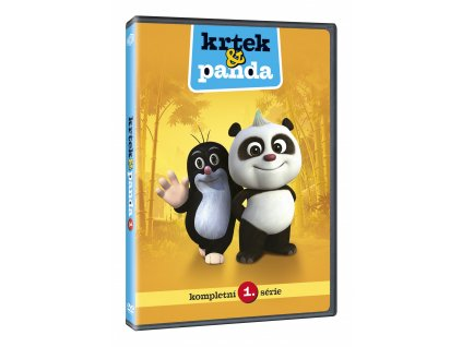 DVD - Krtek a Panda 1