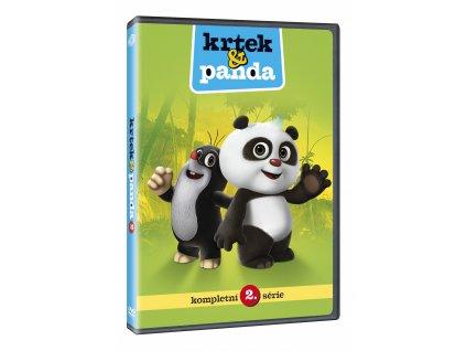 DVD - Krtek a Panda 2