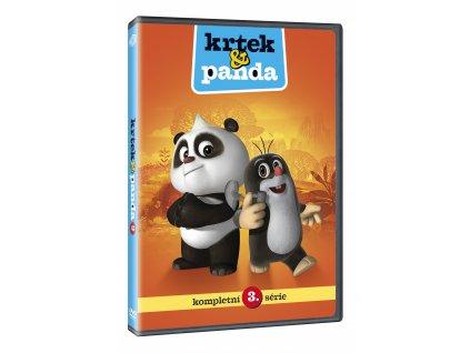 DVD - Krtek a Panda 3