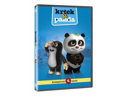 DVD - Krtek a Panda 4